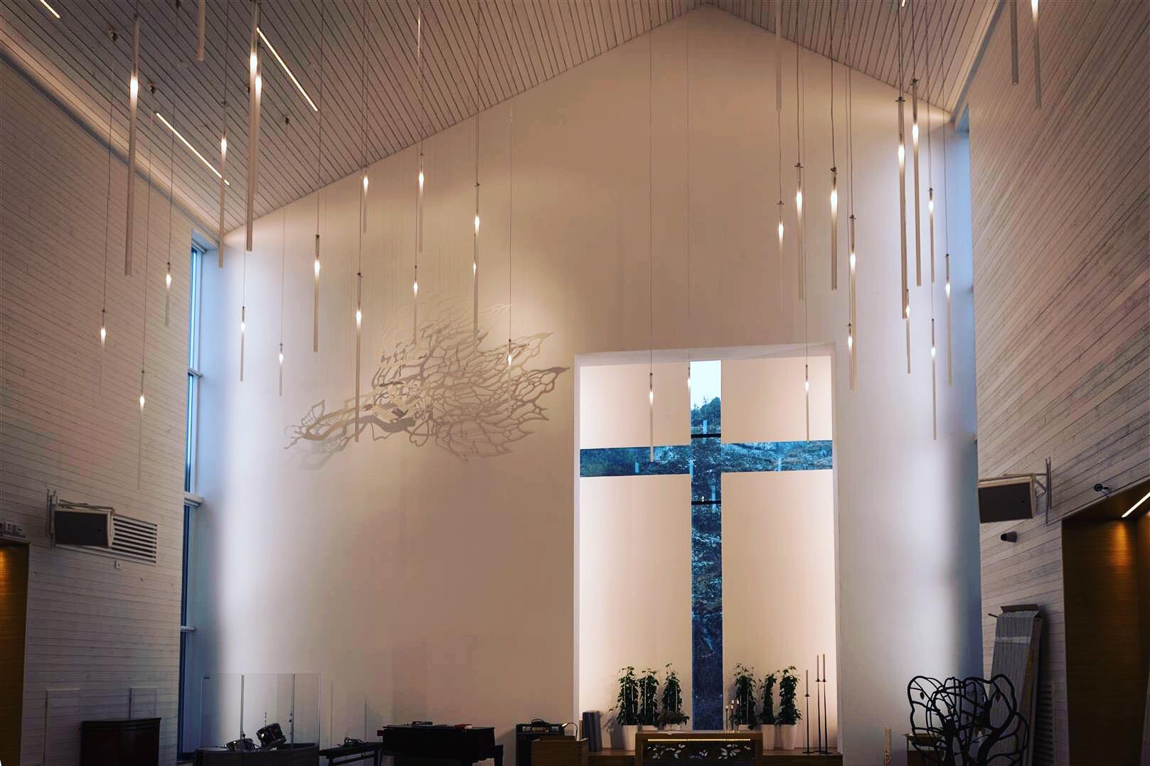 Amhults kyrka finalist i WAF 2016